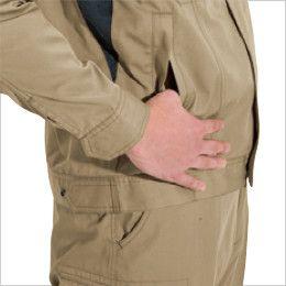 バートル 6091 ソフトツイルジャケット(男女兼用)  逆玉ポケット