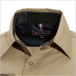 バートル 6103 [春夏用]T/Cライトチノ長袖シャツ(男女兼用) 吸汗ニット