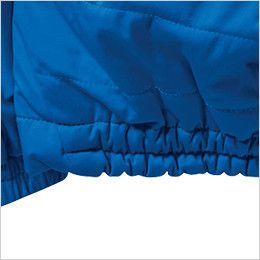 バートル 7410 防風ストレッチ軽量防寒ブルゾン(男女兼用) シャーリングゴム