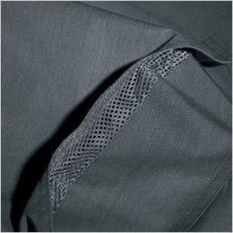 バートル 8061 [春夏用]ヴィンテージライトチノ長袖ジャケット(男女兼用) アームノーフォークメッシュ