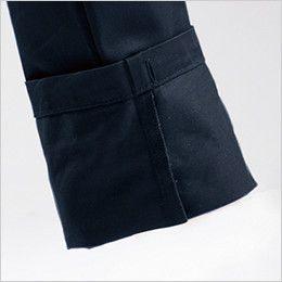 バートル 8102 綿100%ワーカーズツイルカーゴパンツ(男女兼用) しぼりひも通し穴