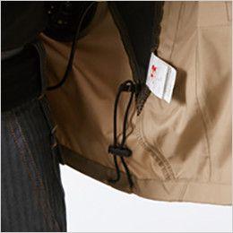 AC1111P バートル エアークラフト[空調服]迷彩 長袖ジャケット(男女兼用) ポリ100% ドローコード