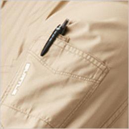 AC1111SET-K バートル エアークラフト[空調服]長袖ジャケット(男女兼用) ポリ100% ペン差しポケット