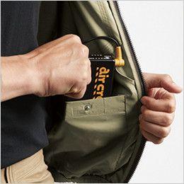 [在庫限り]AC1121SET バートル エアークラフトセット[空調服] ハーネス対応 長袖ブルゾン(男女兼用) ポリ100% バッテリー収納ポケット(ドットボタン止め)