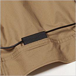 AC1131SET-K バートル エアークラフト[空調服]長袖ブルゾン(男女兼用) 綿100% コードストッパー(マジックテープ止め)