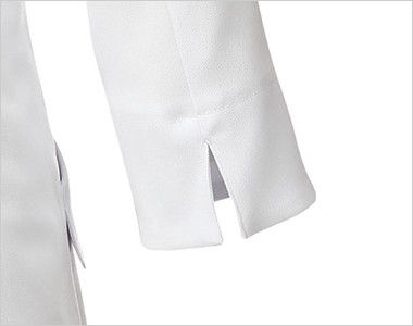 MK-0012 ミッシェルクラン(MICHEL KLEIN) ドクターコート(女性用) 袖をまくりやすいスリット入り