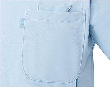 MZ-0049 ミズノ(mizuno) ケーシージャケット(男性用) PHS専用ポケットと箱型ポケット