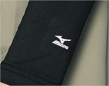MZ-0155 ミズノ(mizuno) 9分袖アンダーウェア(男性用) MIZUNOロゴ