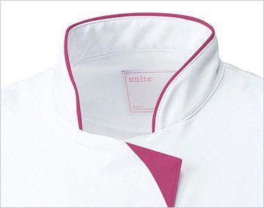 UN-0040 UNITE(ユナイト) チュニック(女性用) スッキリなスタンドカラー