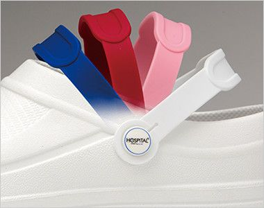 620 FOLK(フォーク) スクラビングシューズ「Choise!」(男女兼用) 4色のベルトがセットで、スクラブのカラーと自在にコーディネートができます