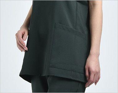 7013SC FOLK(フォーク) 国境なき医師団 スクラブ(男女兼用) ポケット付き