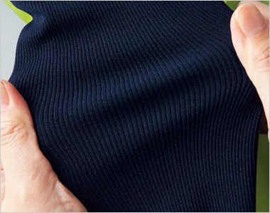 7037SC FOLK(フォーク) ニット付きプルオーバージャケット(男女兼用) 伸縮性と通気性のよい背面と脇ニット