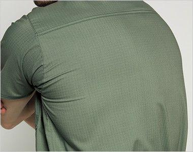 7045SC FOLK(フォーク)×Dickies スクラブ(男女兼用) 吸汗速乾性がある、動きやすいストレッチ素材。洗いざらしのような独特の風合いも魅力です。