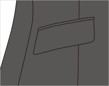 FJ1557 nuovo(ヌーヴォ) ジャケット 無地 ポケット付き