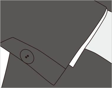 FJ1557 nuovo(ヌーヴォ) ジャケット 無地 きちんした印象を与えるあき見せ仕様