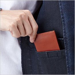 自重堂Z-DRAGON 71600 ストレッチデニムジャンパー 内ポケット