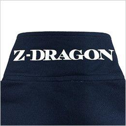 自重堂 75114 Z-DRAGON 半袖ポロシャツ(男女兼用) 裏プリント