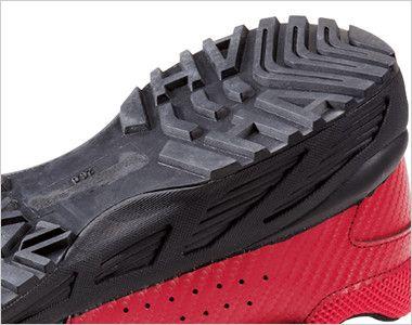 自重堂 S8182 Z-DRAGON 耐滑セーフティシューズ(マジックタイプ) スチール先芯 クッション性の高いEVAミッドソール・水や油に強い耐滑ソール
