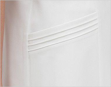 CA1792 ナガイレーベン(nagaileben) キャリアル チュニック(女性用) 3本のラインがおしゃれなデザイン