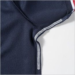 7035-51 桑和 半袖ポロシャツ(胸ポケット付き)(男女兼用) 不快なニオイを軽減するデオドラントテープ付き