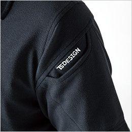 4065 TS DESIGN ESショートスリーブポロシャツ(男女兼用) マルチスリーブポケット仕様