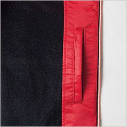 ジーベック 162 カルゼ軽防寒ブルゾン(ライトアウター)(男女兼用) 内ポケット