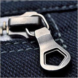 ジーベック 2180 現場服ストレッチ制電長袖ブルゾン 金属製ファスナー