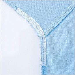 ジーベック 6010 制電半袖ポロシャツ(胸ポケット・左袖ペン差し付き)(男女兼用) 消臭テープ付き