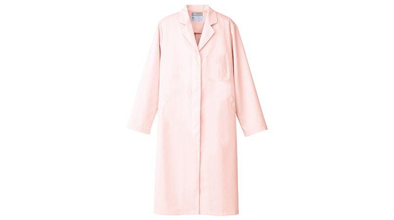 861314 アイトス/ルミエール ドクターコート(女性用)診察衣シングル 比翼ボタン 商品詳細・こだわりPOINT