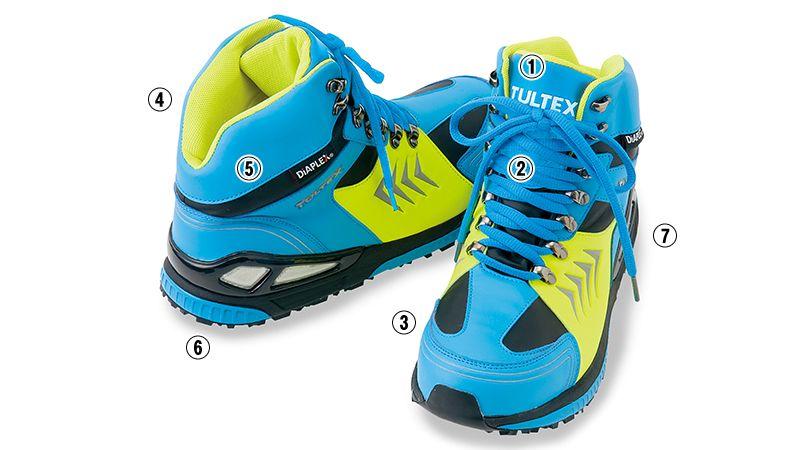 AZ56380 アイトス ディアプレックス 安全靴 スチール先芯 商品詳細・こだわりPOINT