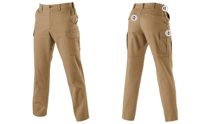 バートル 8032 チノクロスカーゴパンツ(綿100%)(男女兼用) 商品詳細・こだわりPOINT